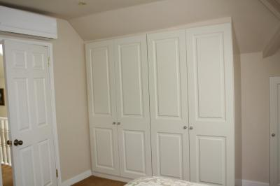 Wardrobes Around Sloping Walls