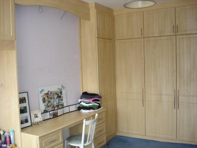 L Shaped Corner Wardrobe
