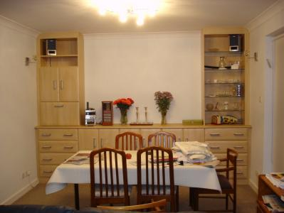 Dining Room Cabinets and Shelf Units