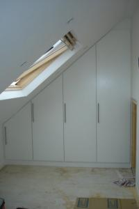 Angled Sloping Doors